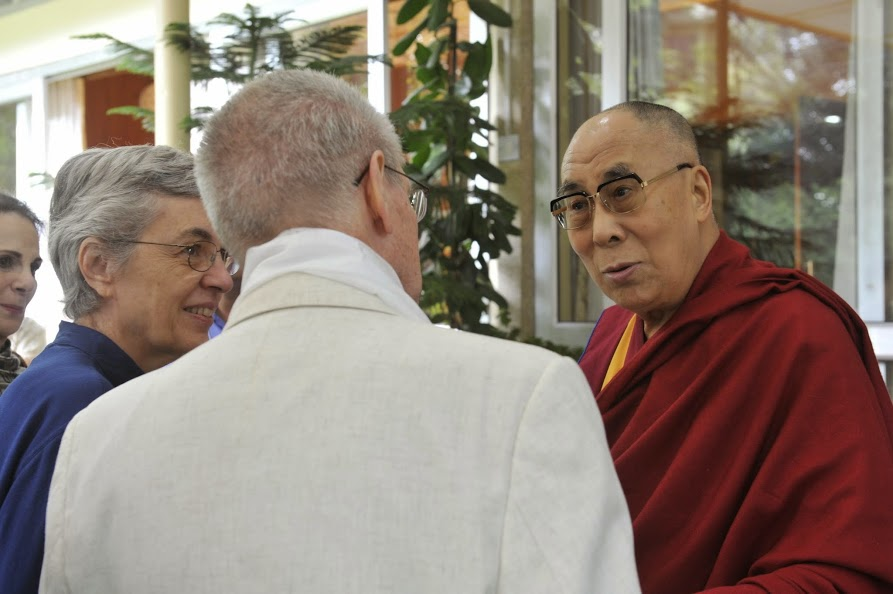 Sue and Sirgfried Othmer meet the Dalai Lama, Sptember 2014