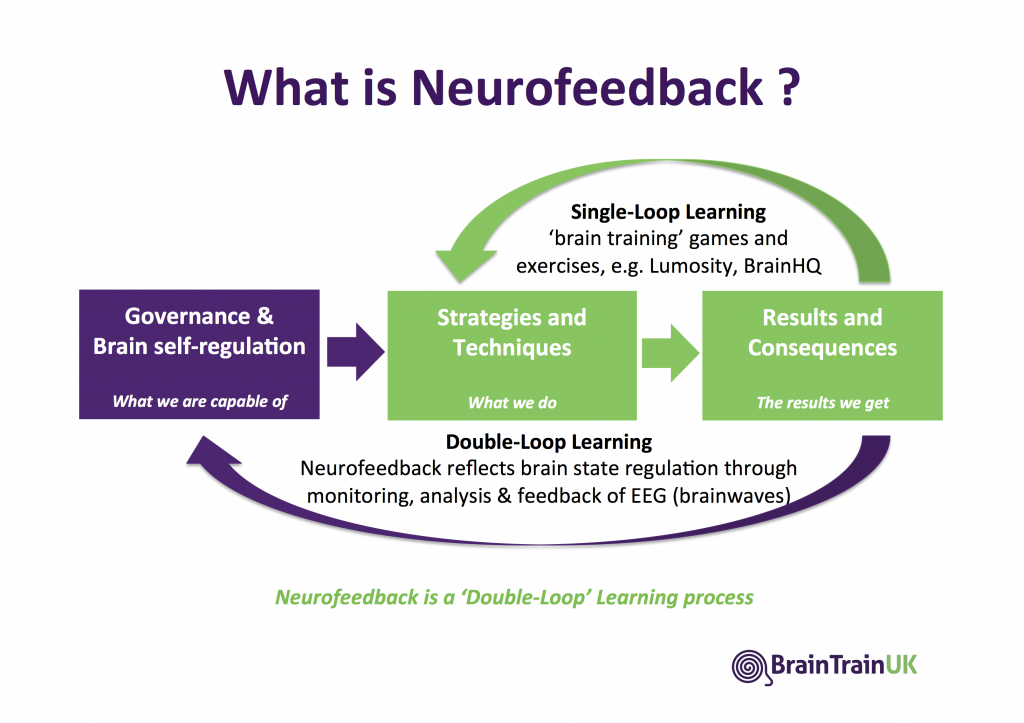 Neurofeedback as Double-Loop Learning Process